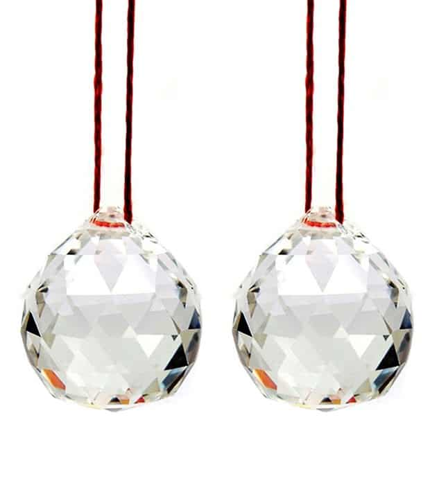 Crystal Ball combo (2 Pieces) - Size : 30mm