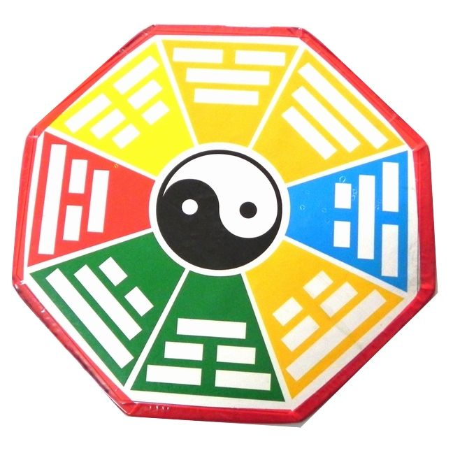 Buy Yin Yang Bagua Pa Kua Symbol Made On Cardboard L Best Quality